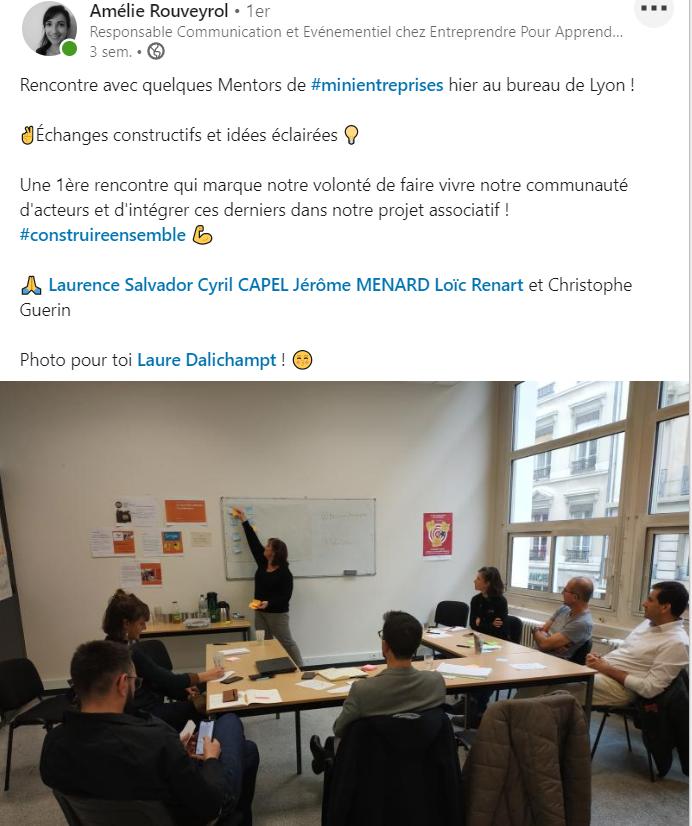 Entreprendre Pour Apprendre – Groupe de travail