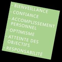 coaching en Rhône Alpes sur les valeurs, activité, approche